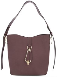 Zac Posen Belay Hobo Bag Red