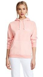 Frame Oversized Hoodie Faded Light Pink