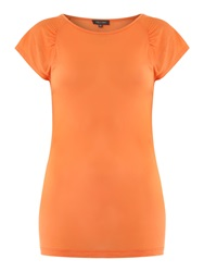 Pied A Terre Raglan Shell Tee Orange