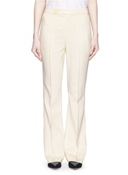 Mo And Co. Edition 10 Tailored Bell Bottom Flare Pants White