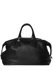 Dsquared Leather Duffle Bag Black
