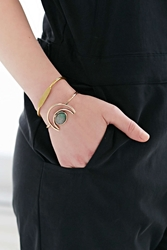 Urban Outfitters Nile Valley Bangle Set Gold