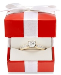 Macy's Diamond Engagement Ring In 14K Gold 1 Ct. T.W. Yellow Gold