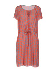 Massimo Rebecchi Dresses Short Dresses Women Coral
