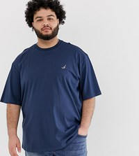 Only And Sons T Shirt With Embroidery Blue