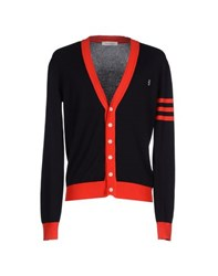 Pierre Balmain Knitwear Cardigans Men Dark Blue