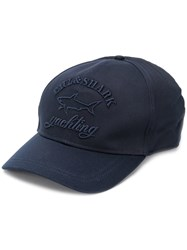 Paul And Shark Embroidered Logo Cap Blue