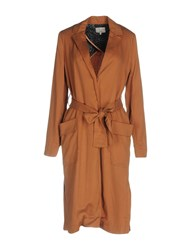Numph Overcoats Brown