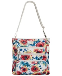 Style And Co. Nina Crossbody Blossom Floral