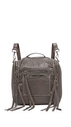 Mcq By Alexander Mcqueen Convertible Backpack Concrete