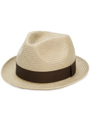 Paul Smith Panama Hat Nude And Neutrals