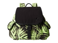 Hurley Tomboy Napsack Flash Lime Palm Backpack Bags Green