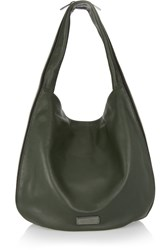 Marc By Marc Jacobs Hillier Textured Leather Shoulder Bag Green