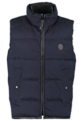 Marc O'polo Waistcoat Night Dark Blue