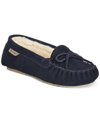 Bearpaw Astrid Moccasins Women's Shoes Navy