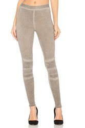David Lerner Stitched Moto Legging Taupe