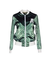 Amaranto Coats And Jackets Jackets Women Green
