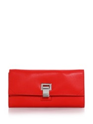 Proenza Schouler Courier Continental Wallet Red