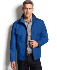 London Fog Newsfields Ripstop Hipster Jacket Royal