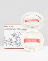 Paul And Joe Warner Bros Limited Edition Powder Case Tom Jerry Tom Jerry Clear