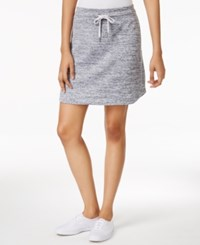 Styleandco. Style And Co. Drawstring Waist Skort Only At Macy's Silver Combo