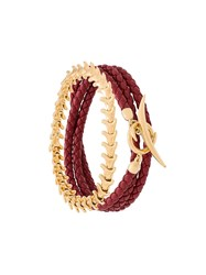 Shaun Leane Serpent And Signature Tusk Bracelet Set Red