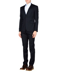 Karl Lagerfeld Suits Dark Blue