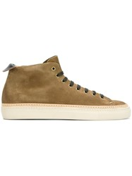 Buttero 'Varm' High Tops Nude And Neutrals