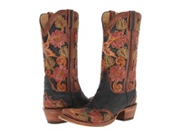 Lucchese L4690.S53 Black Tooled Eden Cowboy Boots Multi
