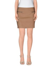 Joseph Skirts Mini Skirts Women Camel