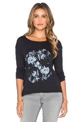 Rvca In The Dark Long Sleeve Top Black