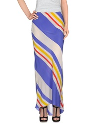 Juicy Couture Long Skirts White