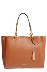 Vince Camuto Avin Leather Tote Brown Whiskey