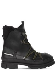 Dsquared Tech Ankle Snow Boots Black