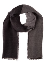 Kiomi Scarf Black Grey