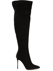Sergio Rossi 'Blink' Stiletto Heel Boots Black