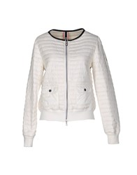 Club Des Sports Jackets White
