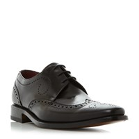 Loake Kruger Harlequin Brogue Shoes Black