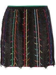 Missoni Fringe Detail Skirt Black