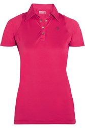 Ariat Cambria Mesh Paneled Stretch Jersey Polo Shirt Pink