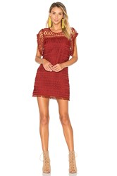 Tularosa Clayton Lace Tunic Red