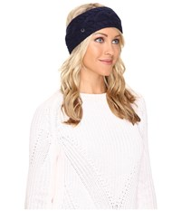 Ugg Cable Headband Navy Headband