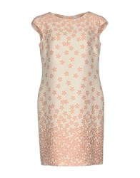 Cinzia Rocca Dresses Short Dresses Light Pink