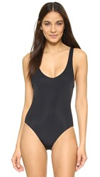 Solid And Striped The Anne Marie Swimsuit Black