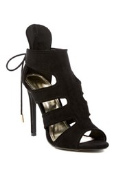 Liliana Connely Back Lace Sandal Black