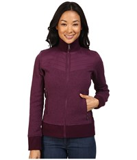 Marmot Tech Sweater Dark Purple Women's Sweater