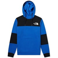 The North Face Himalayan Popover Fleece Hoody Blue