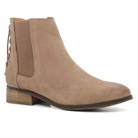 Aldo Boudinot Flat Ankle Boots Medium Brown