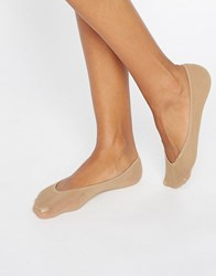 Jonathan Aston Natural Cotton Footsie Natural Tan