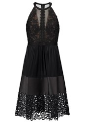 Three Floor Solaris Cocktail Dress Party Dress Black Nude